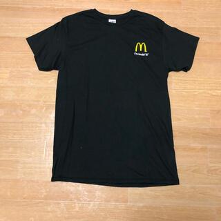 マクドナルド(マクドナルド)の未使用 USA購入 McDonald's マクドナルド企業ロゴ Tシャツ M(Tシャツ/カットソー(半袖/袖なし))