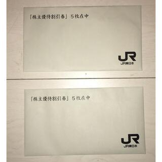 JR東日本 株主優待割引券 10枚組(その他)