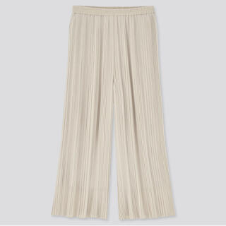UNIQLO - ユニクロ*シフォンプリーツスカートパンツ