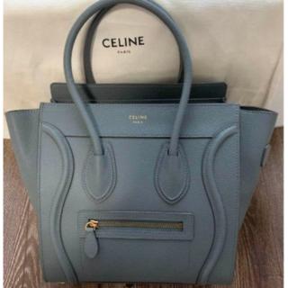 celine - celine セリーヌ ラゲージ ハンドバッグ