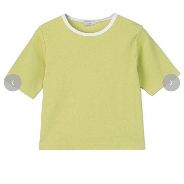 しまむら(シマムラ)のしまむら×tarou リンガーTシャツ L レディースのトップス(Tシャツ(半袖/袖なし))の商品写真