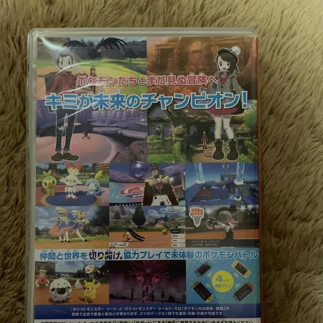 ポケモン(ポケモン)のポケットモンスターソード エンタメ/ホビーのゲームソフト/ゲーム機本体(家庭用ゲームソフト)の商品写真