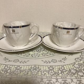 ジバンシィ(GIVENCHY)の未使用ジバンシーコーヒーカップ2客(グラス/カップ)