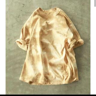 トゥデイフル(TODAYFUL)のTODAYFUL トゥデイフル タイダイ Tシャツ マスタード(Tシャツ(半袖/袖なし))