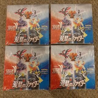 ポケモン(ポケモン)の双璧のファイター 4box ポケモンカードゲーム ソード&シールド(Box/デッキ/パック)