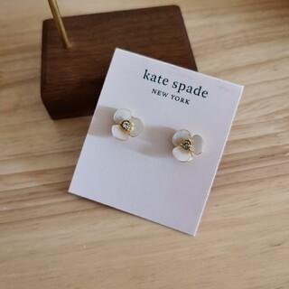 ケイトスペードニューヨーク(kate spade new york)の新品KateSpadeシェルフラワー&パールピアス(ピアス)