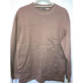 ユニクロ(UNIQLO)のクルーネックTシャツ(Tシャツ/カットソー(七分/長袖))