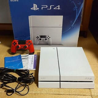 PlayStation4 - PS4 CUH-1200A ホワイト 500GB