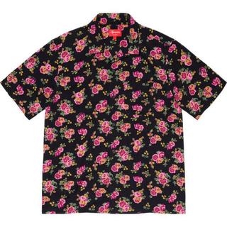 Supreme - supreme 20ss floral rayon shirt フローラルシャツ