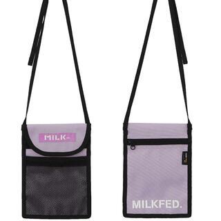 ミルクフェド(MILKFED.)のMILKFED.✳︎FLAT SHOULDER BAG(ショルダーバッグ)