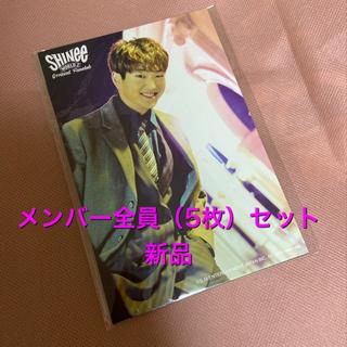 シャイニー(SHINee)のSHINee 2017 five 5 ポストカードセット(アイドルグッズ)