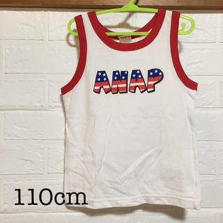 アナップキッズ(ANAP Kids)のANAPkids  キッズ  タンクトップ  110cm(Tシャツ/カットソー)