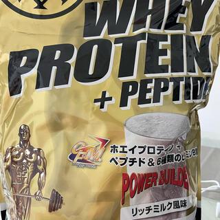 最終値下げ ゴールドジム プロテイン 2kg リッチミルク(プロテイン)