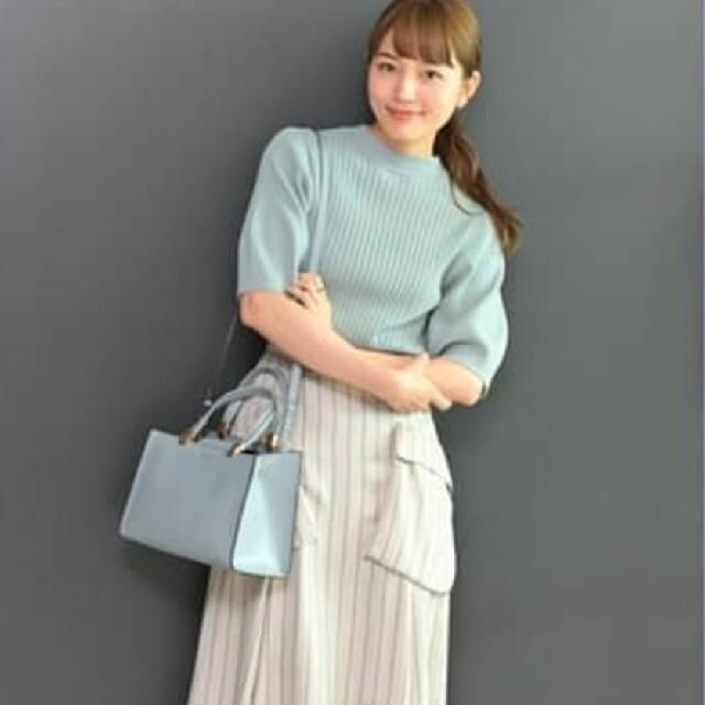 Lily Brown(リリーブラウン)のMila Owen ポケットデザインフレアスカート 川口春奈 川口春奈着用 新品 レディースのスカート(ロングスカート)の商品写真