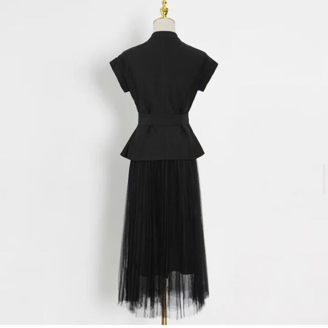 eimy istoire(エイミーイストワール)の[お取り寄せ]大人気⭐️エレガントロングスカートセットアップ レディースのスカート(ロングスカート)の商品写真