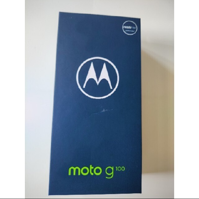 Motorola(モトローラ)のmotorola moto g100 新品未使用 イリディセントスカイ スマホ/家電/カメラのスマートフォン/携帯電話(スマートフォン本体)の商品写真