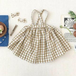 キャラメルベビー&チャイルド(Caramel baby&child )のsoor ploom 21ss Eloise pinafore 2y(スカート)
