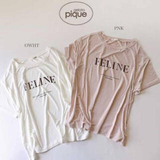 gelato pique - ワンポイントTシャツ