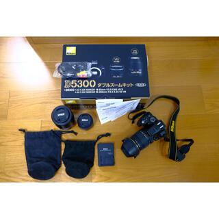 Nikon - Nikon D5300 ダブルズームキット BLACK 保証書有