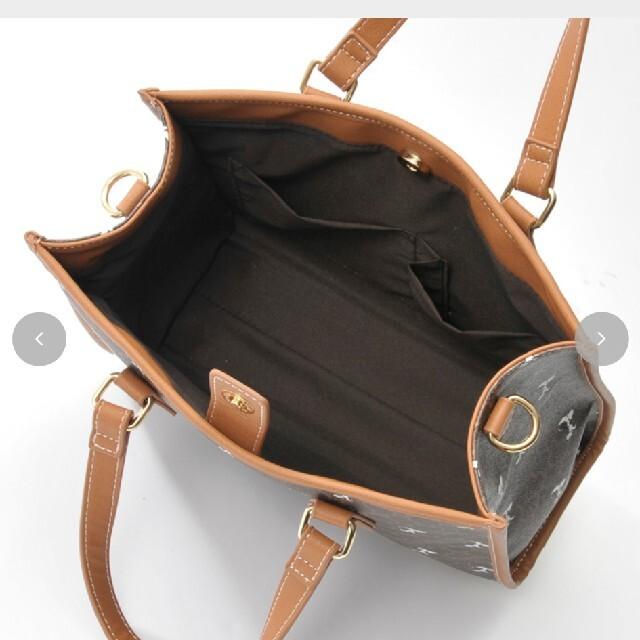 しまむら スヌーピー2way レディースのバッグ(ショルダーバッグ)の商品写真