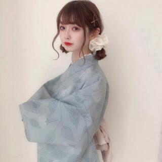 ワンアフターアナザーナイスクラップ(one after another NICE CLAUP)の新品♡rili tokyo 浴衣♡よもぎもち(浴衣)