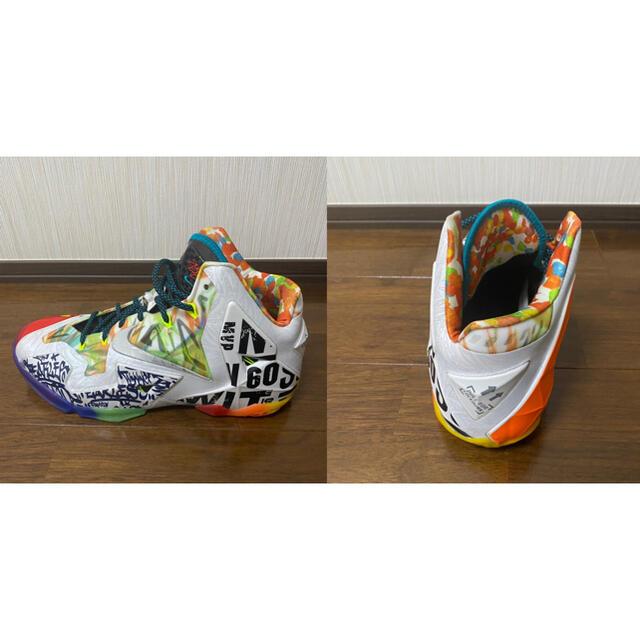 NIKE(ナイキ)のナイキ ホワット・ザ・レブロン 11(WHAT THE LEBRON 11) メンズの靴/シューズ(スニーカー)の商品写真