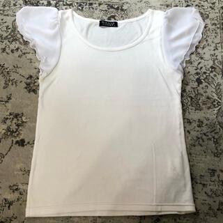 シマムラ(しまむら)の袖シフォンデザイントップス(Tシャツ(半袖/袖なし))