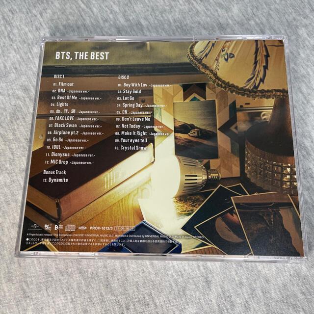 防弾少年団(BTS)(ボウダンショウネンダン)のBTS 防弾少年団 THE BEST 公式 CD アルバム 帯付き セブンネット エンタメ/ホビーのCD(K-POP/アジア)の商品写真