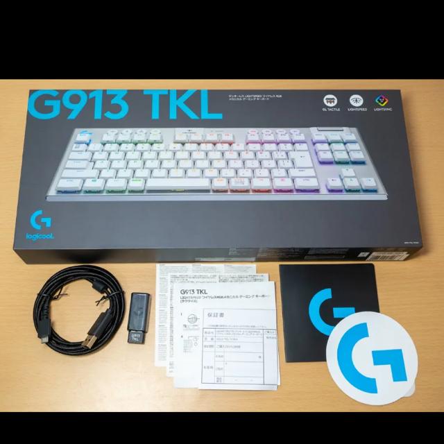 Logicool G913 TKL タクタイルキー スマホ/家電/カメラのPC/タブレット(PC周辺機器)の商品写真