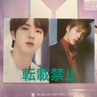 防弾少年団(BTS) - 【ジン JIN】 BTS THE BEST アルバム●通常盤 トレカ 2枚