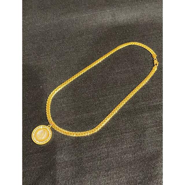 大人気マリアゴールド18kGF喜平タイプのネックレス刻印有り メンズのアクセサリー(ネックレス)の商品写真