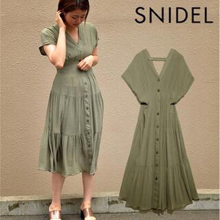 snidel - スナイデル フロントボタン ワンピース