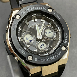 G-SHOCK - 送料無料 CASIO g-shock GST-W300-1AJF   シルバー