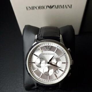 エンポリオアルマーニ(Emporio Armani)の極美品 EMPORIO ARMANI 「クラシック」 AR2432 メンズ腕時計(腕時計(アナログ))