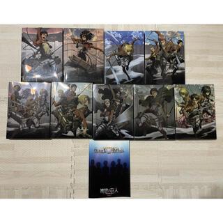 進撃の巨人 Blu-ray DVD 1〜9 全巻セット 【初回限定版あり】
