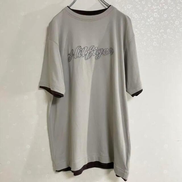 TOMMY HILFIGER(トミーヒルフィガー)のTommy Hilfiger ロゴ刺繍 Tシャツ 半袖 メンズのトップス(Tシャツ/カットソー(半袖/袖なし))の商品写真