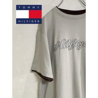 TOMMY HILFIGER - Tommy Hilfiger ロゴ刺繍 Tシャツ 半袖