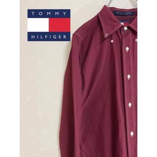 トミーヒルフィガー(TOMMY HILFIGER)のTOMMY HILFIGER 激レア 90's ライオンロゴ シャツ(シャツ)