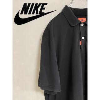 ナイキ(NIKE)のNIKE ポロシャツ 古着 ブラック(ポロシャツ)