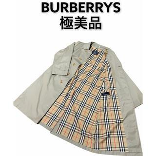 バーバリー(BURBERRY)のBURBERRYS トレンチコート バーバリー 美品 ノバチェック(トレンチコート)