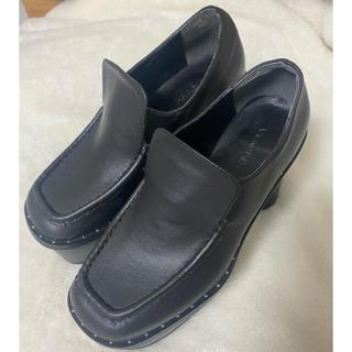 エモダ(EMODA)の【EMODA】マットチャンキーヒールローファー(ローファー/革靴)