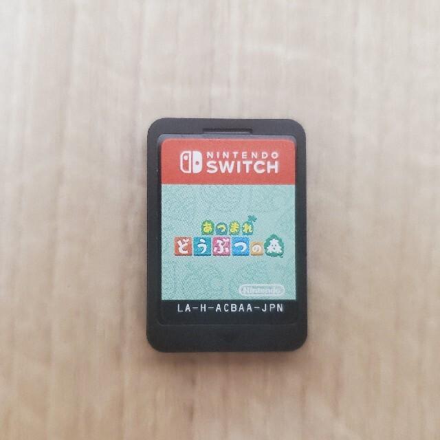 Nintendo Switch(ニンテンドースイッチ)の【ソフトのみ】あつまれ どうぶつの森 Switch用ソフト エンタメ/ホビーのゲームソフト/ゲーム機本体(家庭用ゲームソフト)の商品写真
