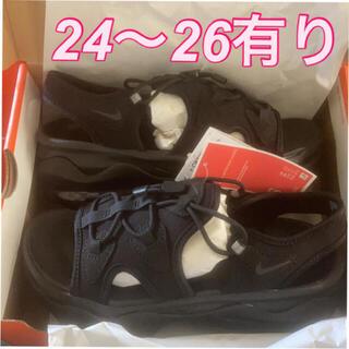 ナイキ(NIKE)の24 25 26センチ ココ ブラック AIR MAX KOKO SANDAL (サンダル)