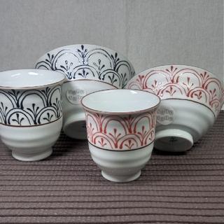 ハサミ(HASAMI)の波佐見焼 福峰窯 夫婦茶碗 湯呑みセット(食器)