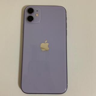 Apple - 美品! SIMフリー iphone11 64GB パープル