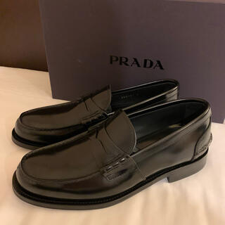PRADA - 新品未使用 PRADA プラダ 大人気 高級 ロファー 牛革 ブラック