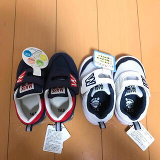 ニシマツヤ(西松屋)の西松屋 スニーカー 13cm 14cm まとめ売り 新品(スニーカー)