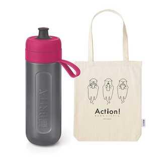 ブリタ 水筒 直飲み 600ml 携帯用 浄水器(水筒)