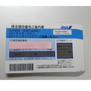 エーエヌエー(ゼンニッポンクウユ)(ANA(全日本空輸))のANA 株主優待券   10枚セット(その他)