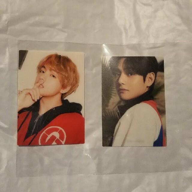BTS THE BEST FC限定盤 トレカ テテ 2枚 エンタメ/ホビーのCD(K-POP/アジア)の商品写真
